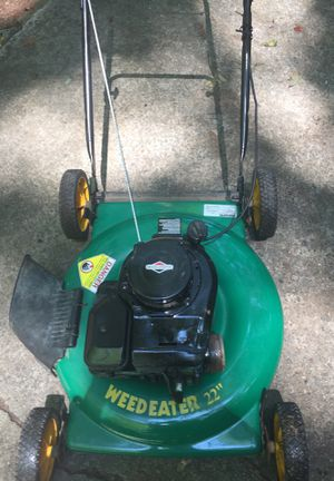 Weedeater Push Lawn Mower for Sale in Lilburn, GA
