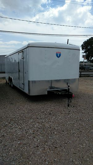 8.5x24 Enclosed Trailer 10k for Sale in Houston, TX