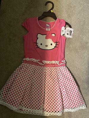 Hello kitty dress 4t with tags for Sale in Clifton, NJ