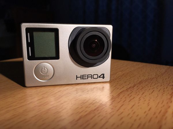 GoPro hero 4 Black with extra batteries and 64g SD