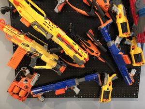 Lots of nerf gun in great condition for Sale in Sugar Hill, GA