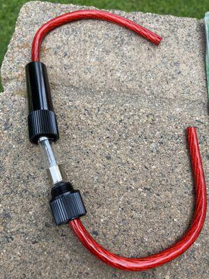 $5 each / Brand new Amplifier AGU 8 gauge fuse holder for Sale in Sanger, CA
