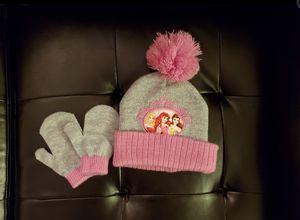 Disney Princess Toddler Girls Hat & Mittens Set for Sale in La Grange Park, IL
