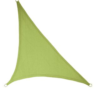 """LyShade 16'5"""" x 16'5"""" x 22'11"""" Right Triangle Sun Shade Sail Canopy (Lime Green) - UV Block for Patio and Outdoor for Sale in Hialeah, FL"""