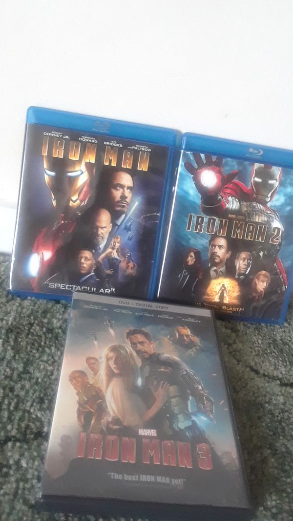 Iron man 1 2 3 there good