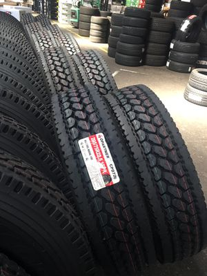"""New Lowpro 22.5"""" Drive, Trailer, and All Position Tires for Sale in Stockton, CA"""