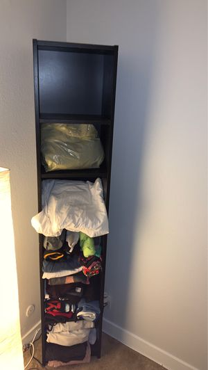 IKEA BLACK BOOKSHELF/SHELVING UNIT/STORAGE for Sale in Los Angeles, CA