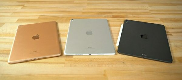 2018 ipad two left black and gold
