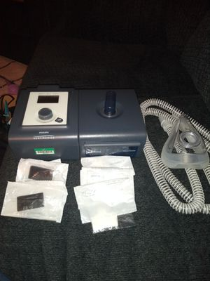 CPAP machine with new hose mask and filters for Sale in Marysville, WA
