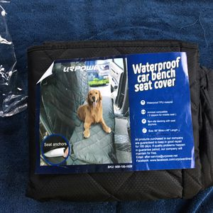 Water proof car bench Seat coverage for Sale in Los Angeles, CA