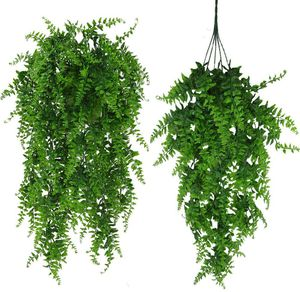 (2box=4ps)Artificial Plants Greenery Boston Fern Persian Rattan for Sale in Tampa, FL