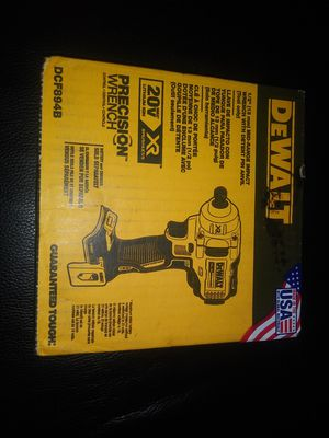 $150. New. DEWALT 20 V. 1/2 in. Impact Wrench with Detent Pin Anvil (Tool-Only) DCF894B for Sale in Morrow, GA