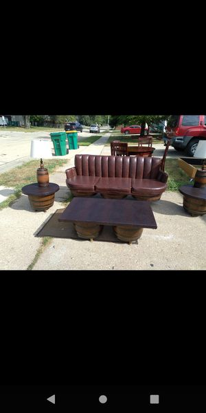 antique barrel furniture for Sale in Bolingbrook, IL