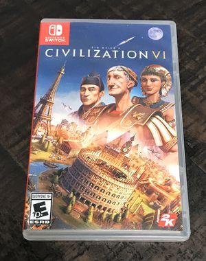 Civilization VI 6 Switch Game for Sale in Port St. Lucie, FL