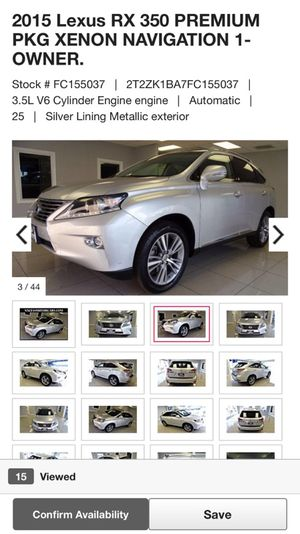 2015 Lexus RX 350 for Sale in Bellaire, TX