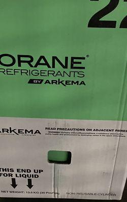 R22 Refrigerant 30# Sealed Jug for Sale in Modesto,  CA