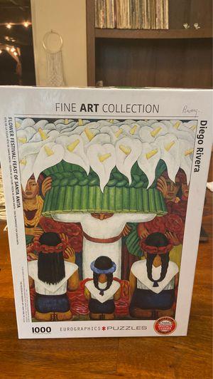 Diego Rivera 1,000 Piece Puzzle for Sale in Tempe, AZ
