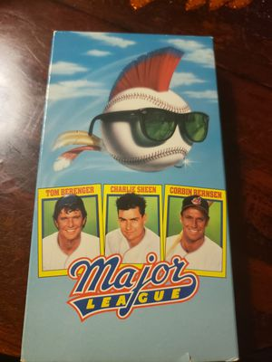 Major LEAGUE VHS for Sale in Riverside, CA