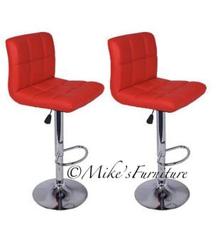 Brand new 2 red bar stools (shipping is available) for Sale in Orlando, FL