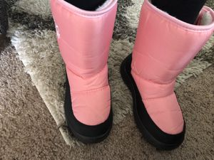 Girls kids snow boots size 12 for Sale in Chula Vista, CA