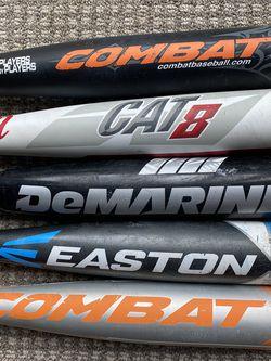 Baseball Bats - Marucci, Easton, Combat for Sale in Carlsbad,  CA
