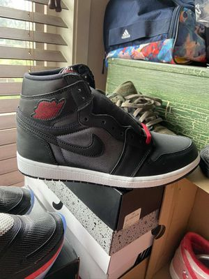 Jordan 1 satin black gym red for Sale in Portland, OR