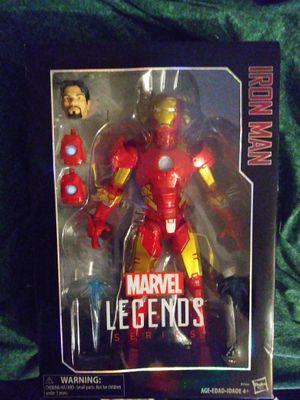 Marvel Legends series Iron Man and Captain America for Sale in Merchantville, NJ