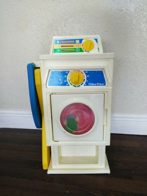 Washer dryer set with ironing board toys educational for Sale in Miami, FL
