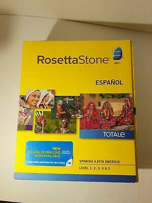 Rosetta Stone Spanish, English, French Level 1-5 for Sale in West Palm Beach, FL