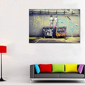 Brand New Graffiti Wall Canvas Paintings HD Printed Abstract Street Art Poster Print Modern Home Bedroom Office Lobby Hallway Bar Gameroom Decor for Sale in Queens, NY