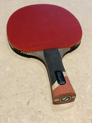 STIGA Pro Carbon Performance-Level Table Tennis Racket with Carbon Technology for Tournament Play for Sale in Miami Beach, FL