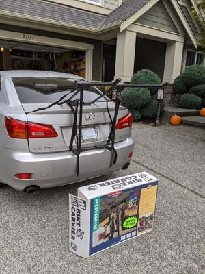 Bike Rack/Carrier - holds up to 3 bikes for Sale in Redmond, WA