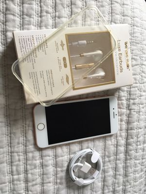 iPhone 8! Rose ! Unlocked! Earphones and case free!! for Sale in Chicago Ridge, IL