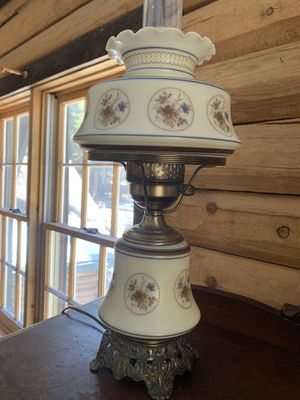 Antique Hurricane table lamps for Sale in Big Bear, CA