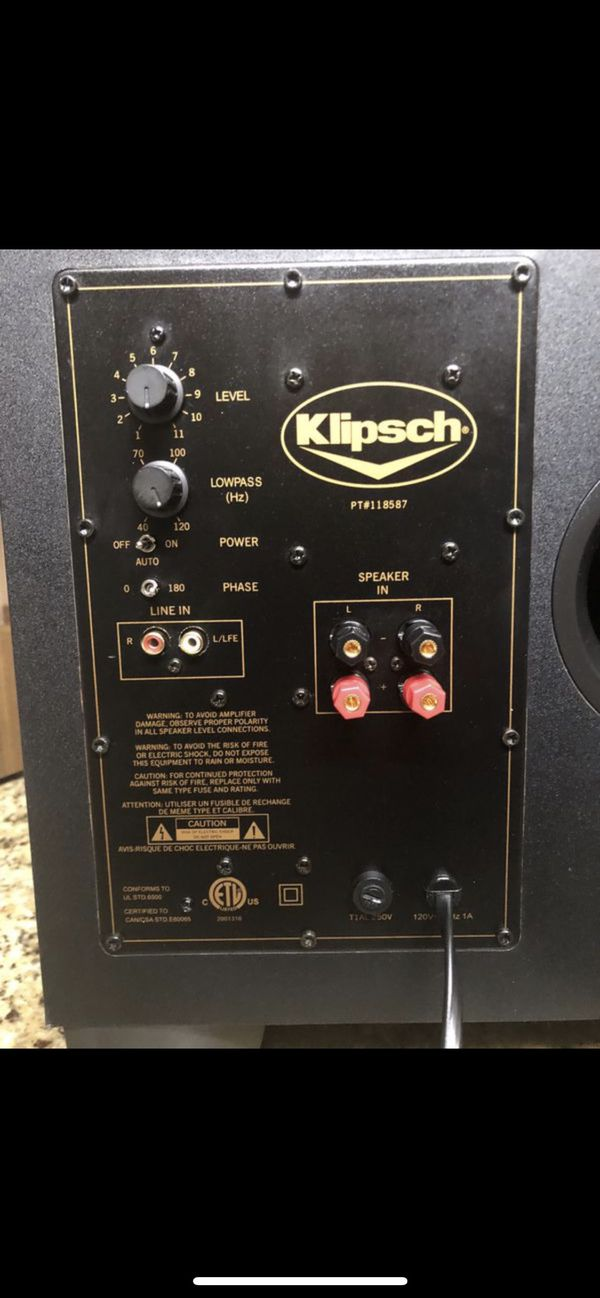 KLIPSCH POWERED SUBWOOFER KSW-10