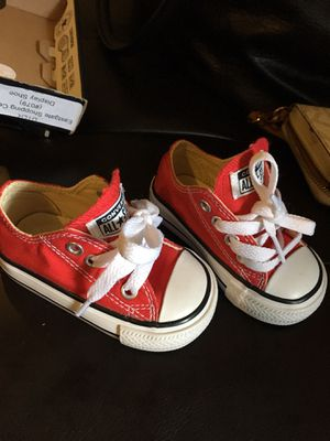 Converse size 3 for Sale in Tampa, FL