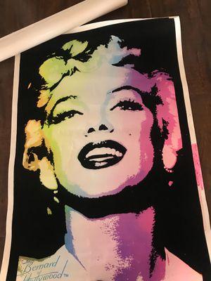 Marilyn Monroe BlackLight Poster!!! for Sale in Fontana, CA