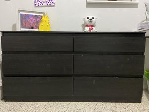 IKEA BROWN DRESSER for Sale in Miami, FL