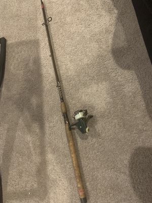Fenwick Rod FS83 with Vintage Zebco Cardinal 4 Spinning fishing reel for Sale in Edgewood, WA