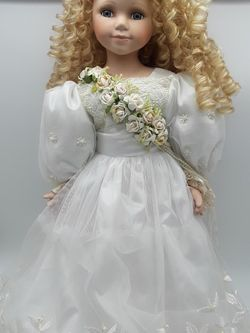 22 Inches Tall Porcelain Doll. J. Misa Collection for Sale in Houston,  TX