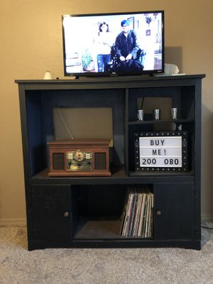 Black entertainment center for Sale in Phoenix, AZ