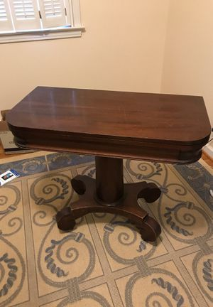 Fold out table with storage for Sale in Richmond, VA