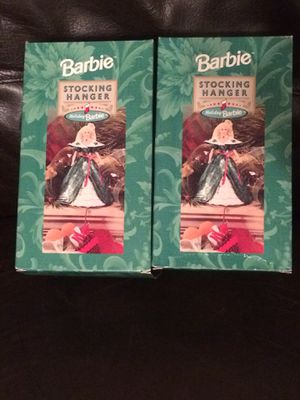 Collectible Barbie Stocking Holders-Brand New for Sale in Lexington, KY