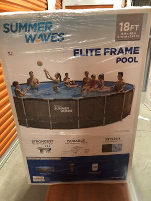 summer waves 18 ft elite 4 feet deep brand new in box for Sale in Towson, MD