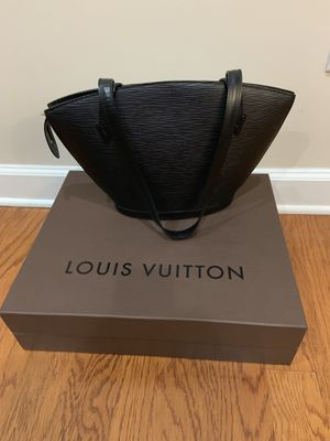 Black Leather Louis Vuitton Bag for Sale in Roswell, GA