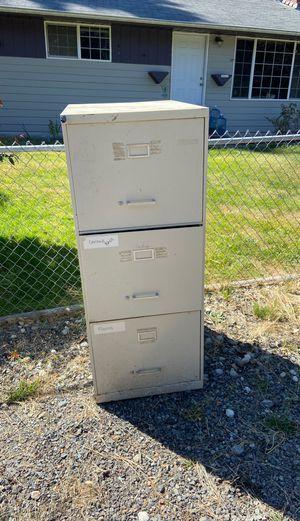 Oversized file cabinet free no key for Sale in Everett, WA