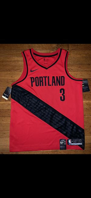 Portland Trailblazers CJ McCollum Nike Swingman Jersey Men's Large Brand New for Sale in Portland, OR