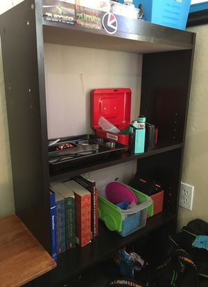 3 shelf dresser. Great condition only had it for a month. It's black and the shelves are adjustable (OBO) for Sale in Spanish Fork, UT