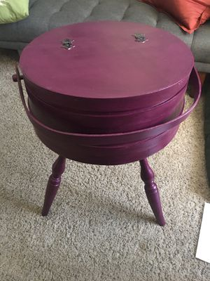 Refurbished vintage sewing box/stand for Sale in Henderson, NV