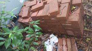 """Approximately 100 red 8"""" x 4"""" pavers. for Sale in Texas City, TX"""